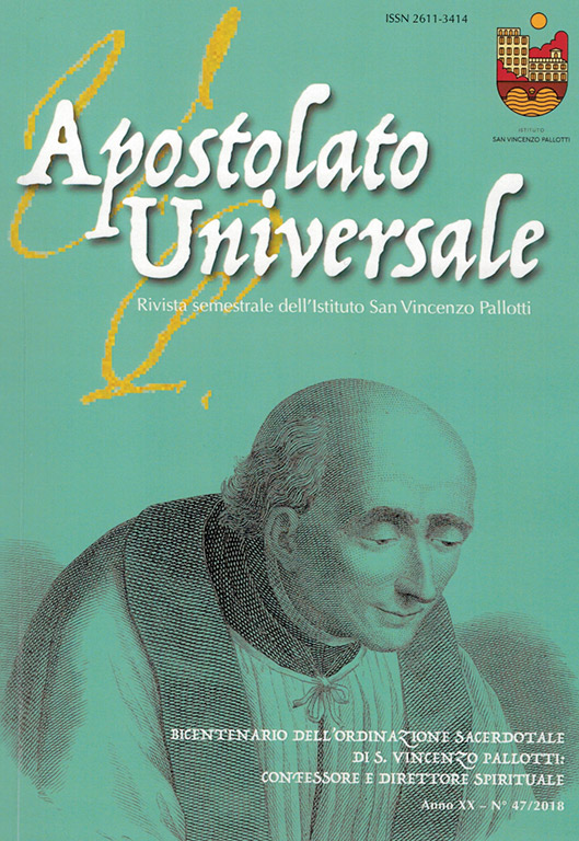 Visualizza V. 20 N. 47 (2018): Apostolato Universale 47/2018