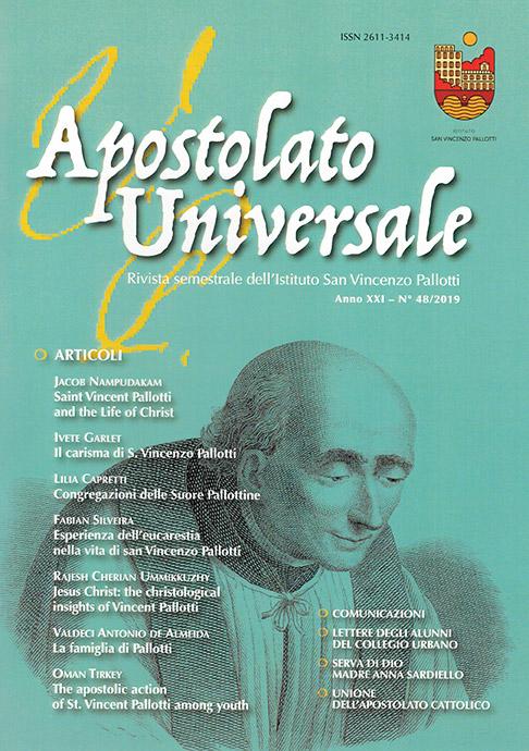 Visualizza V. 21 N. 48 (2019): Apostolato Universale 48/2019